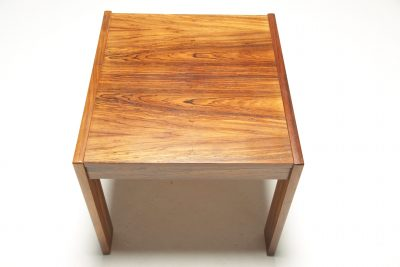 Vintage Rosewood Side Table brazilian rosewood grain