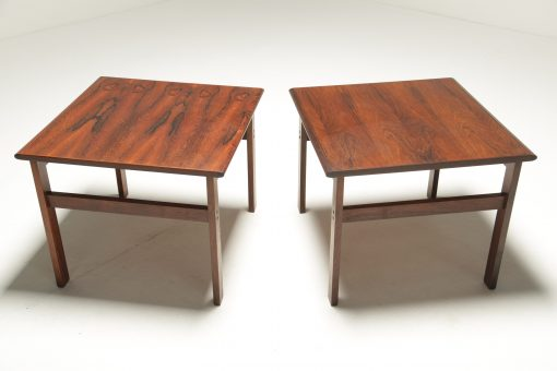 Capella series Rosewood Side tables by Illum Wikkelso