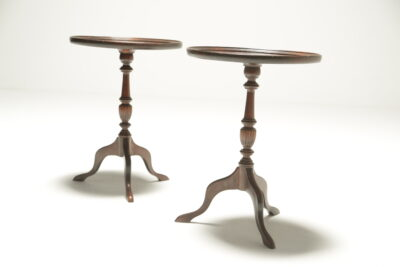 Pair of Victorian Mahogany Wine Tables