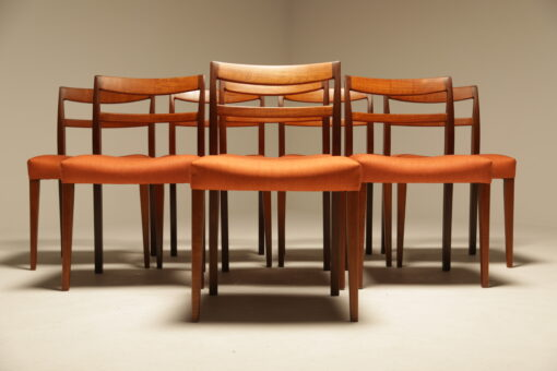 "Nils Jonsson ""Garmi"" Teak Dining Chairs by Troeds, Set of 8 the vintage hub"