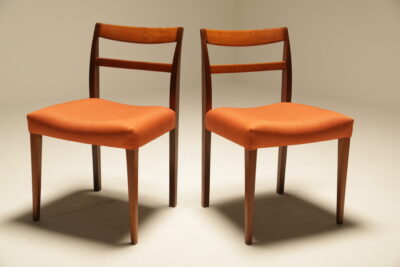 "Nils Jonsson ""Garmi"" Teak Dining Chairs by Troeds, Set of 8"