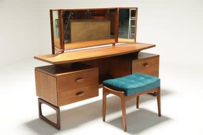 G Plan Quadrille Vanity Dressing Table retro furniture Dublin Ireland
