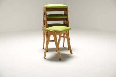 Set of 4 Stacking Stools Ben style