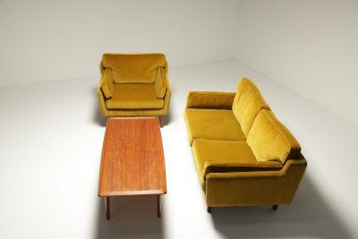 Illum Wikkelso Sofa Set in Velvet