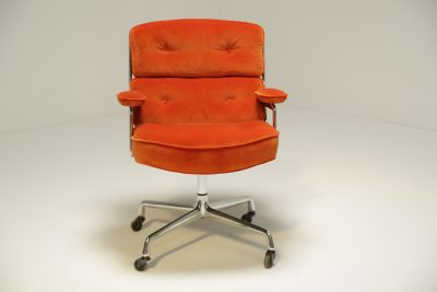 Eames Time Life Lobby Chair in Velvet mid-century office chair