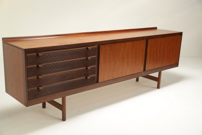 Knightsbridge Teak Sideboard by Robert Heritage the vintage hub