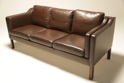 Borge Mogensen Style Danish 3 Seat Sofa
