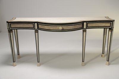 Maitland Smith Hollywood Regency Console Table
