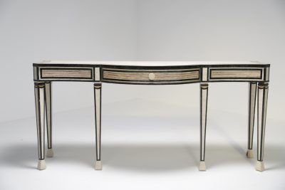 Maitland Smith Hollywood Regency Console Table