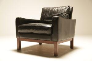 Mid-century Danish Leather Club Chair Danish furniture Dublin Ireland