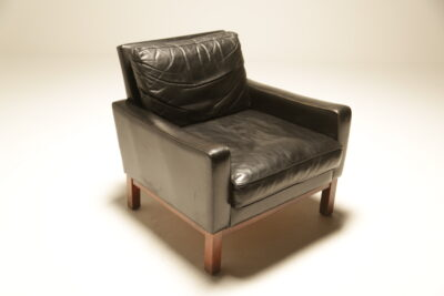 Mid-century Danish Leather Club Chair