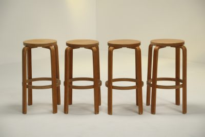 Alvar Aalto style Plywood Stools retro furniture Dublin