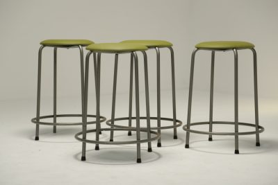 Industrial Stacking Bar Stools