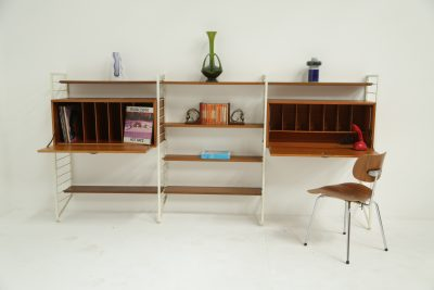 Ladderax Wall Unit by Staples & Co. London Vintage furniture Dublin Ireland