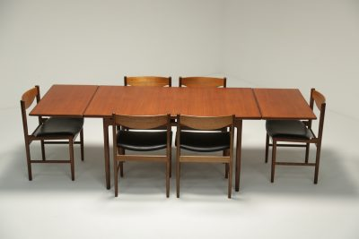 Ib Kofod Larsen Teak Dining Table vintage dining table Dublin