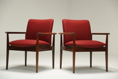 Finn Juhl Diplomat Chairs Model 209