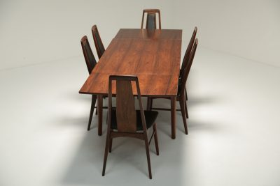 Rosewood Dining Chairs by Niels Koefoed