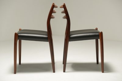 Niels Moller Rosewood Model 78 Dining Chairs