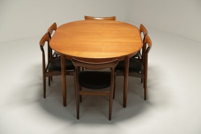 Teak Dining Chairs by H.W. Klein for Bramin