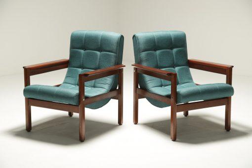 Crannac Scoop Chairs in Teak Arthur Edwards