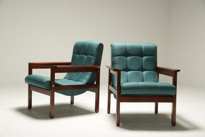 Crannac Scoop Chairs in Teak The vintage hub