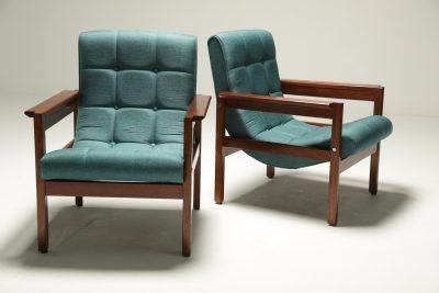 Crannac Scoop Chairs in Teak vintage furniture Dublin Ireland