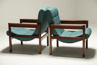Crannac Scoop Chairs in Teak