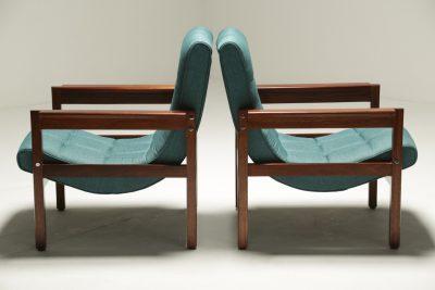 Crannac Scoop Chairs in Teak retro armchairs