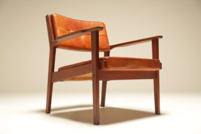 Ingemar Thillmark Teak Axamo Chair for Olaf Perssons