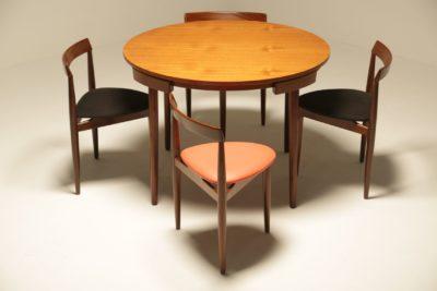 Hans Olsen Teak Roundette Dining Set
