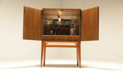 Swedish Art Deco Style Cocktail Bar