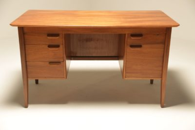 Danish Teak Desk vintage office desk Dublin Ireland