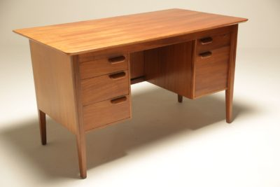 Danish Teak Desk vintage office desk