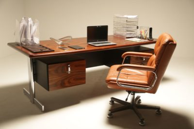 Rosewood Series 80 Desk by Ray Leigh for Gordon Russell