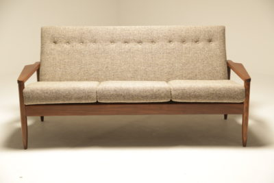 Mid-century Crannac Sofa in Donegal Tweed