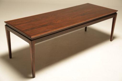 Danish Rosewood Coffee Table the vintage hub