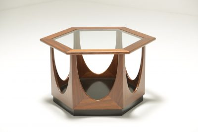 G-Plan Hexagonal Table by Victor Wilkins retro furniture Dublin