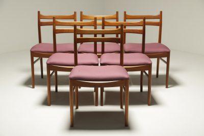 Mc Intosh Teak Dining Chairs