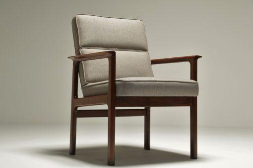 Danish Teak Elbow Chair the vintage hub