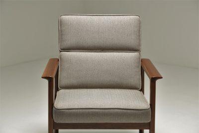 Danish Teak Elbow Chair