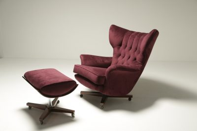 G plan 6250 Chair and Footstool Blofeld chair