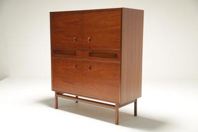 Teak Bar Cabinet by McIntosh