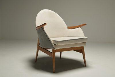 Mid-century Beech Armchair