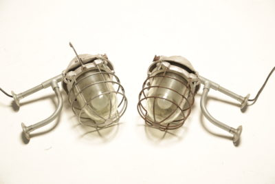 Industrial Caged Wall Lights