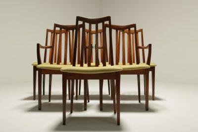 Set of 6 G Plan Fresco dining chairs