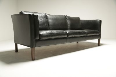 Borge Mogensen Style Leather Sofa vintage furniture Dublin