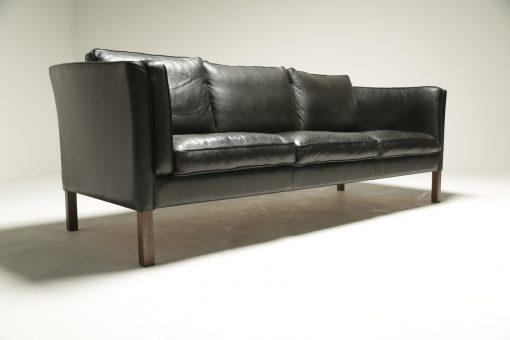 Borge Mogensen Style Leather Sofa vintage furniture Dublin