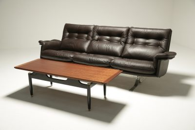 Fredrik A. Kayser Leather Sofa