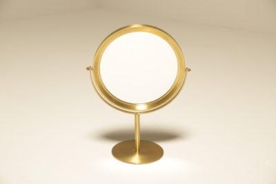 Mid-century Brass Vanity Mirror Swedish