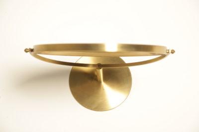 Mid-century Brass Vanity Mirror
